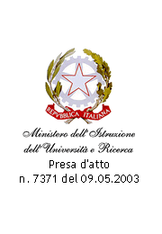 recognized by Italian Ministry of Education