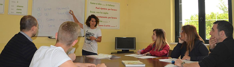 Group courses Conte Ruggiero School
